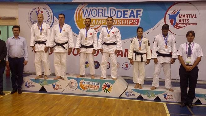 Второе место у россиян на чемпионате Мира по ката дзюдо глухих